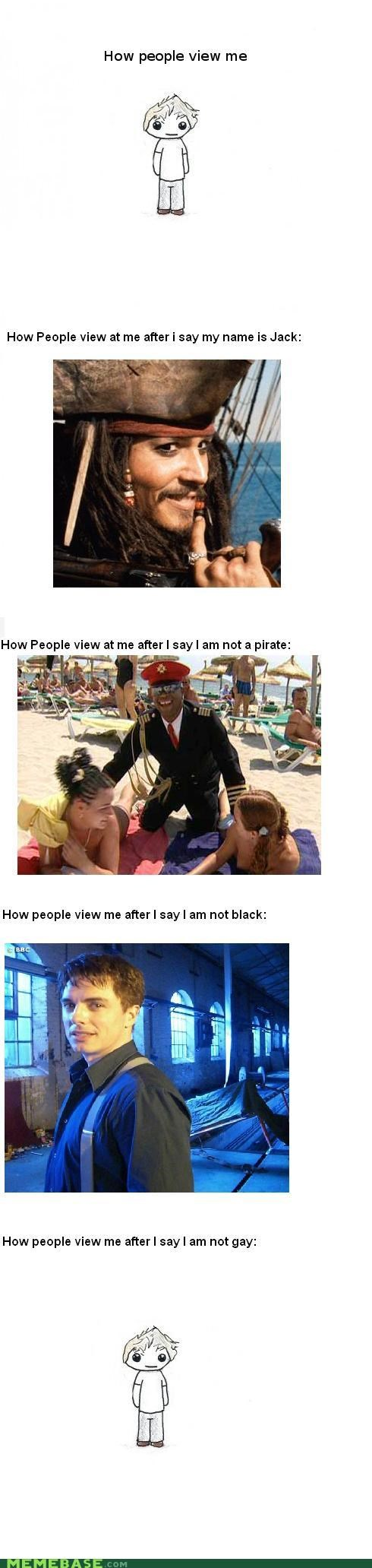 gay How People View Me jack lots pirates sparrow - 5169097984