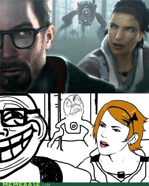 gordon freeman,half life,rage,troll,video games