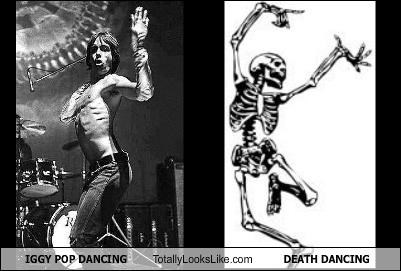 dancing Death Hall of Fame iggy pop Madonna musician musicians skeleton - 5169314304