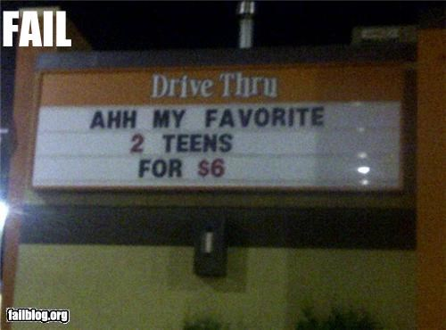 drive thru,failboat,fast food,innuendo,signs