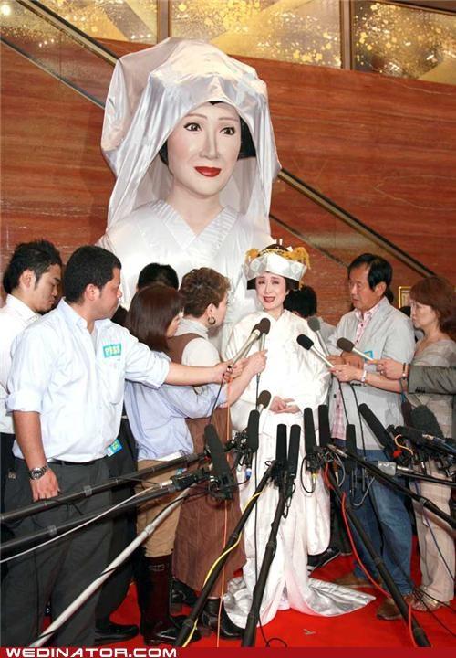 funny wedding photos,Japan,japanese,kimono,sachiko kobayashi,traditional