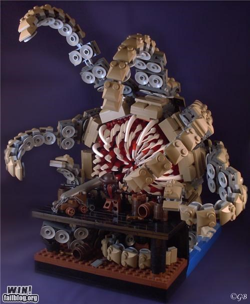 kraken lego model Pirate Pirates of the Caribbean sarlac sarlacc pit toy - 5171254016