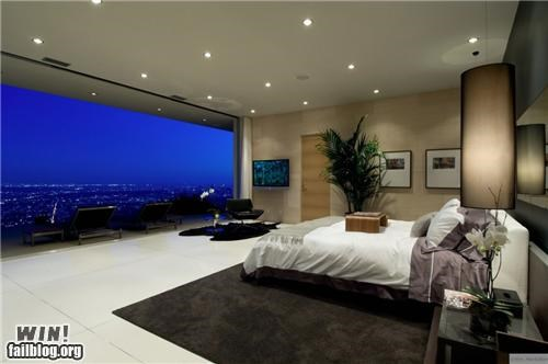 bedroom,Brother Nature FTW,city,cityscape,design,home,interior,room,view