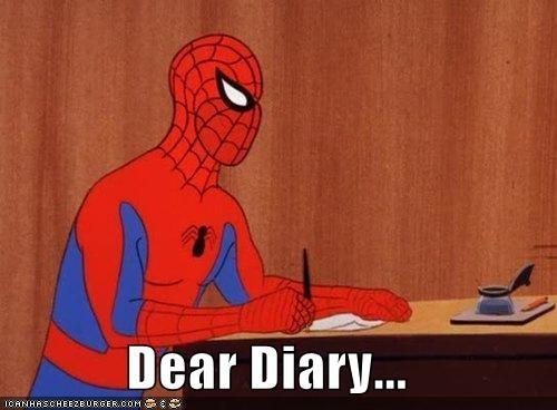 diary Spider-Man Super-Lols - 5172729600
