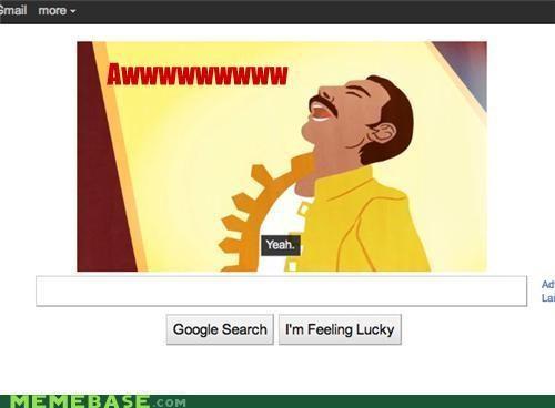awww yeah,doodle,freddie mercury,google,queen
