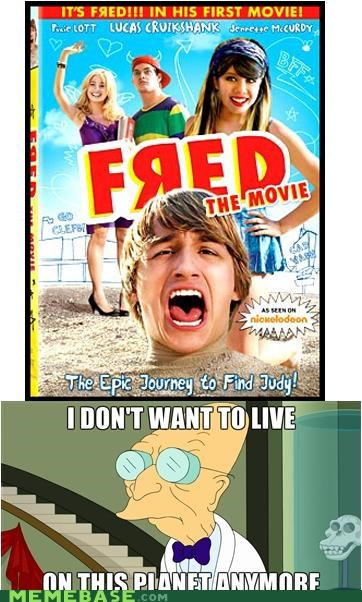 fred,hours,i dont want to live on this planet anymore,journey,youtube