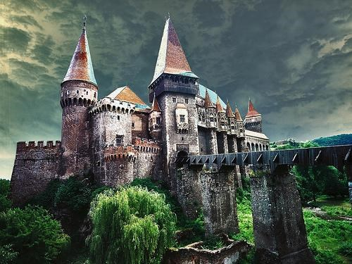 architecture awesome castle europe getaways hunedoara castle romania transylvania - 5173613824