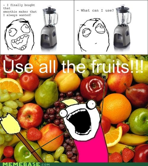 all the things,fruit,maker,smoothie,taste