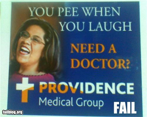 Ad failboat g rated laughing medicine pee wtf