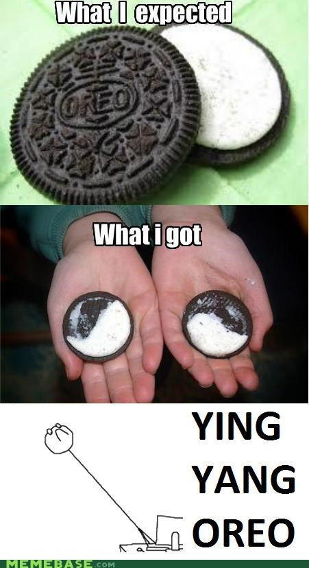 do not want,Rage Comics,what,yin ying oreo