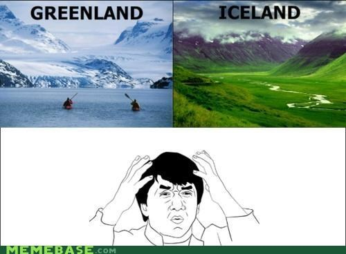 best of week,greenland,Iceland,islands,lies,Memes,what