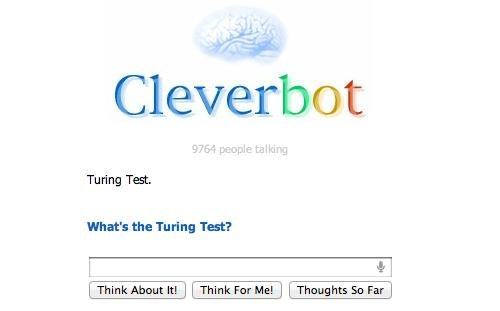 ai,chatbot,Cleverbot,Tech,turing test