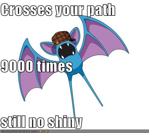 Crosses your path 9000 times still no shiny