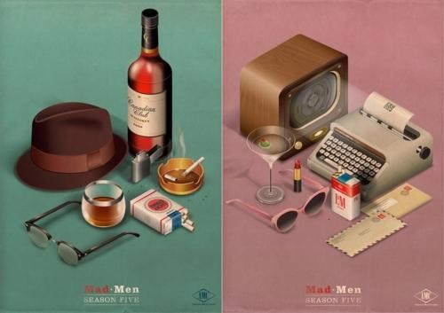 mad men,promo poster,radio