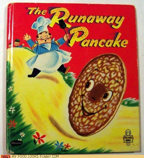 book,drawing,kids,pancake,runaway