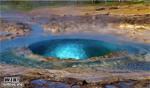eerie eruption gas geyser nature photography timing - 5174491648