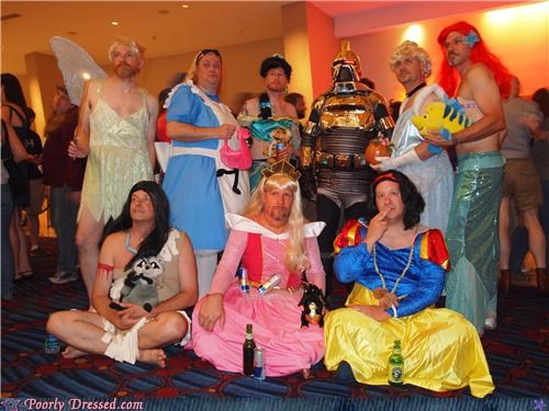 cosplay costume cross dressing disney disney princesses - 5174569472