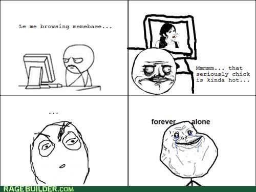forever alone meta Rage Comics seriously - 5174611712