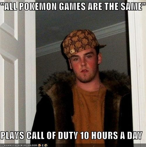 """ALL POKEMON GAMES ARE THE SAME"" PLAYS CALL OF DUTY 10 HOURS A DAY"