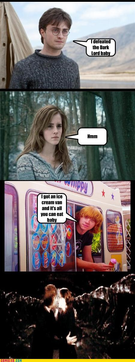 Harry Potter,ice cream,womans-heart