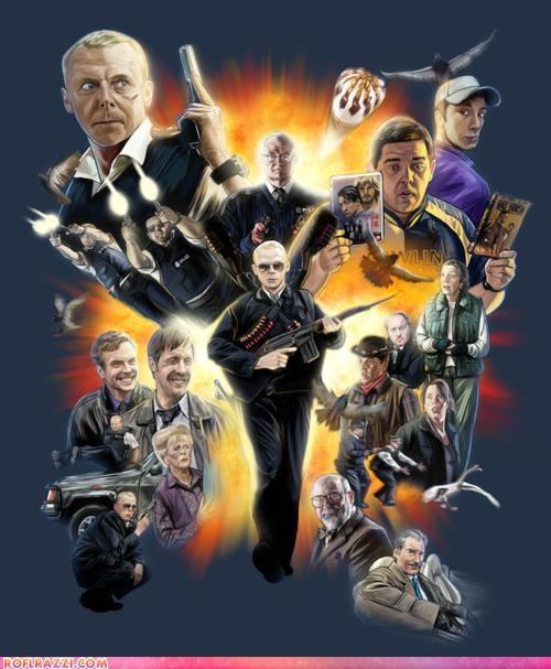 art awesome Badass cool funny Hall of Fame hot fuzz Movie Simon Pegg - 5175010048
