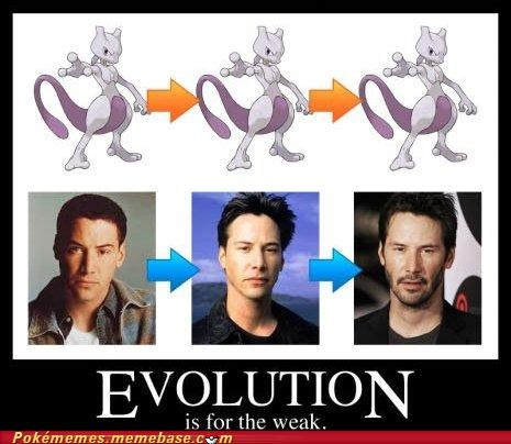 Evolve IRL IRL evolution keanu reeves mewtwo - 5175335168