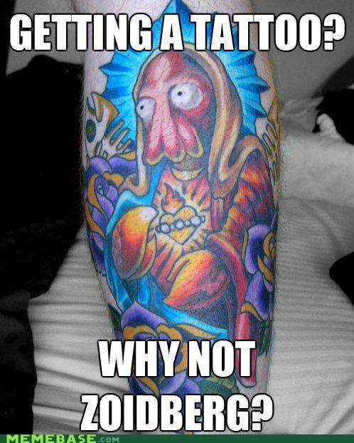permanent religion tattoo Why Not Zoidberg - 5175343872