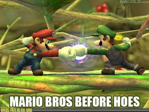 bro fist,bros,bros before hoes,g rated,mushroom kingdom shore,Super Mario bros