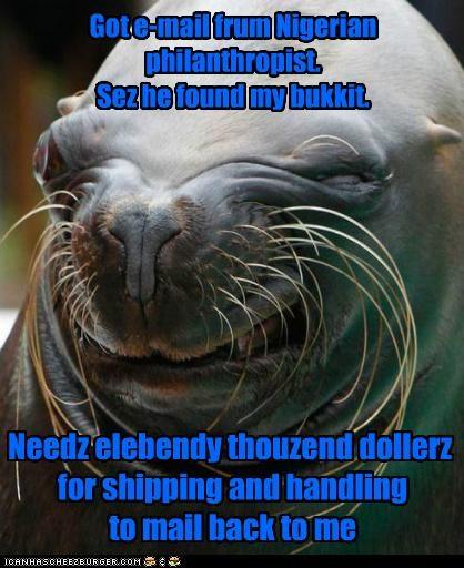 bukkit I Can Has Cheezburger lolrus money scam seals - 5175927040