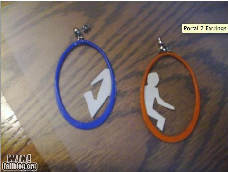accessory earrings fashion nergasm Portal valve - 5176057856