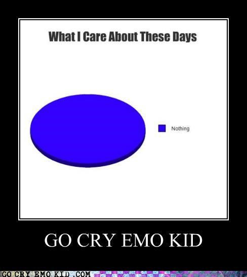 apathy,cry,emolulz,Pie Chart
