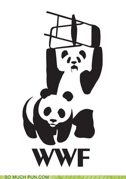 double meaning Hall of Fame literalism world wildlife foundation world wrestling federation wwf - 5177075456