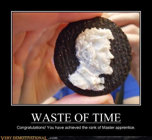 carving oreo Pure Awesome waste of time