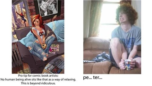 4chan,amazing spider-man 601,comics,j scott campbell,lol,mary-jane watson,Spider-Man