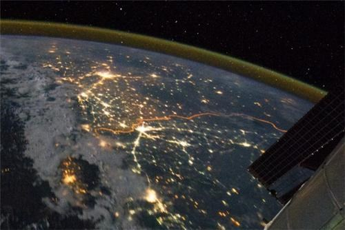 border,india,international space station,Pakistan,photos,space