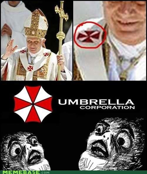 corporation,pope,raisins-super-fuuuu,religion,umbrella