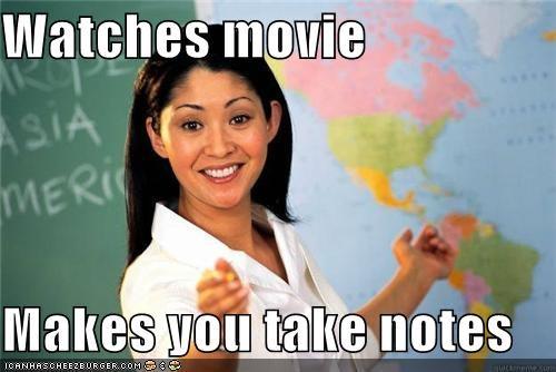 class Movie notes-book school Terrible Teacher watch - 5177710336