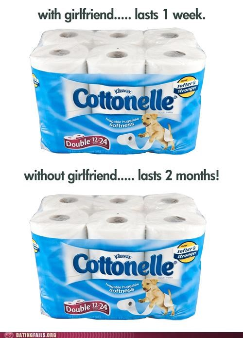 girlfriend,money,single,toilet paper,We Are Dating