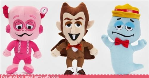 boo berry,cereal,characters,count chocula,frankenberry,Plush