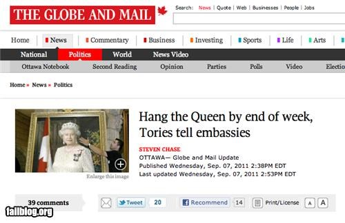england failboat g rated headline oh canada Probably bad News - 5177799680
