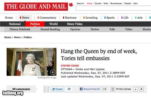 england failboat g rated headline oh canada Probably bad News - 5177799680