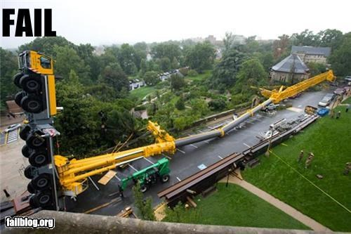 crash fail crane failboat falling g rated Professional At Work - 5177817600
