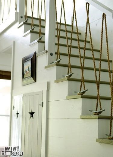 boat decoration design home rope sail sailing stairs - 5177844992