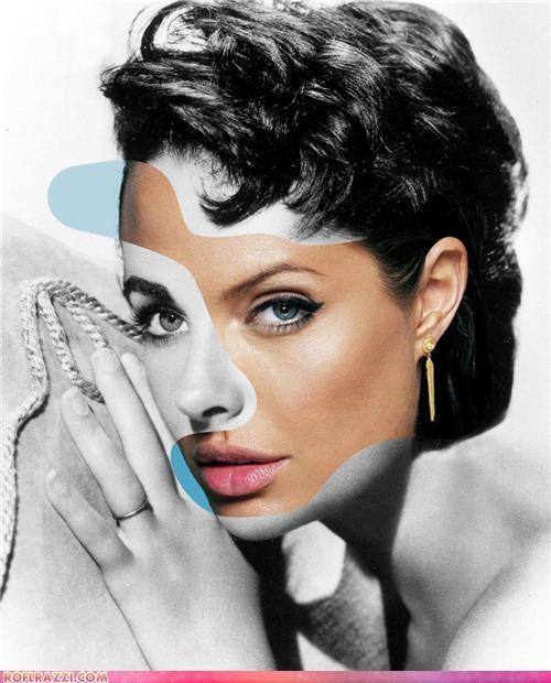 actor Angelina Jolie art Audrey Hepburn awesome cary grant celeb elizabeth taylor george clooney James Dean marilyn monroe natalie portman robert pattinson scarlett johansson - 5177957120