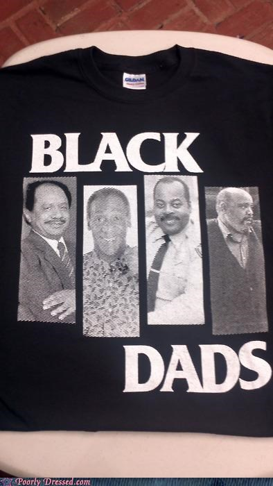 cosby dads fathers fresh prince Hall of Fame T.Shirt - 5178180352