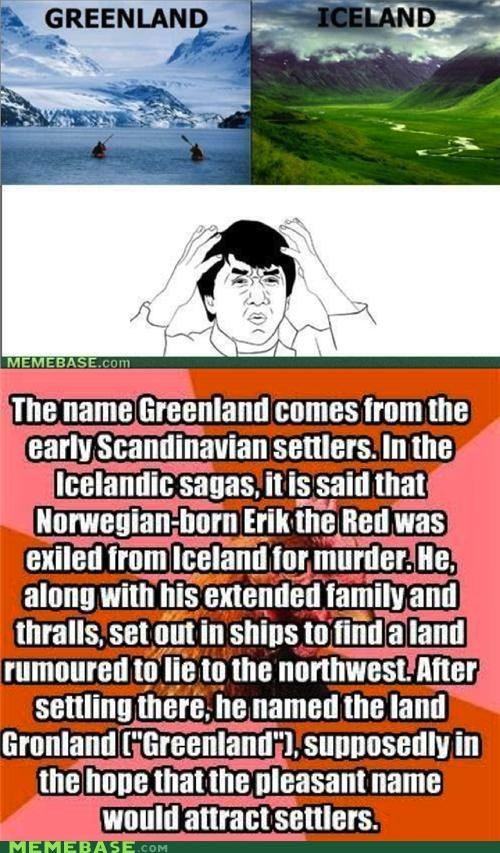 anti joke chicken,greenland,Iceland,Reframe,The More You Know