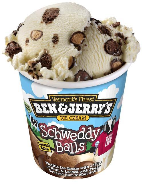 ben-jerrys Schweddy Balls SNL