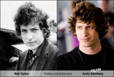 Bob Dylan Totally Looks Like Andy Samberg