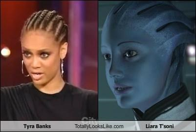 liara tsoni mass effect model television personalities tyra Tyra Banks video games