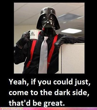 darth vader funny Hall of Fame Movie Office Space sci fi star wars - 5178846976